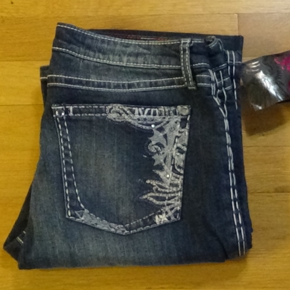 24b3b3fc Wrangler Jeans | Nwt Rock 47 By Lowrise Small Boot 1112 | Poshmark